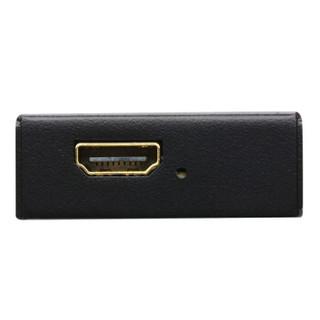 ATEN 宏正VB800 True HDMI(3D, 色深, 4K)视频高清延长 延长器 黑色