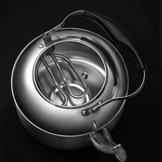 爱仕达(ASD)5L大容量 电烧水壶 304不锈钢鸣笛热水壶 插电水壶  HS05A1WG