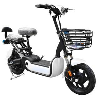 福音达电动车新国标可上牌带3C电动自行车电动电瓶车代驾外卖踏板车电单车两轮电动摩托车直营 锂电48V12A