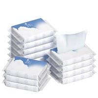 柚家 婴儿乳霜保湿因子纸巾 3层*40抽*12包