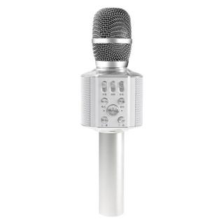 屁颠虫(Hifier)X5银手机麦克风无线蓝牙内置声卡话筒全民K歌抖音直播电容麦音箱音响一体套装手机电视K歌宝