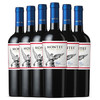MONTES 蒙特斯 经典梅洛红葡萄酒 750ml*6瓶