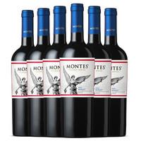 Montes 蒙特斯红酒 经典系列梅洛干红葡萄酒 750ml*6瓶