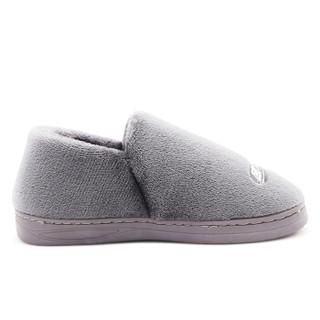回力(Warrior) 童鞋男童女童舒适包跟保暖棉拖鞋棉鞋 WST-2409 灰色 34/35