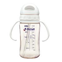 Richell 利其尔 PPSU吸管型奶瓶 260ml