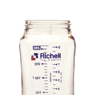 Richell 利其尔 82716 PPSU儿童吸管杯  260ml