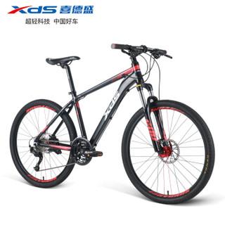 喜德盛自行车  新品2020-逐日600黑红色17吋  27速