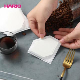 HARIO挂耳咖啡滤纸进口V60便携滴漏式手冲咖啡滤袋26枚