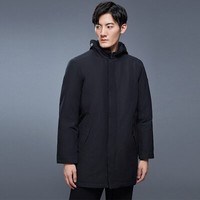 诺诗兰 GORE-TEX 男式中长款羽绒服