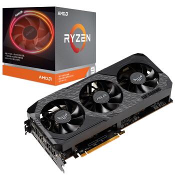 AMD 锐龙9 3900X处理器+华硕(ASUS)TUF3-RX5700XT-O8G-GAMING显卡 CPU与显卡套包