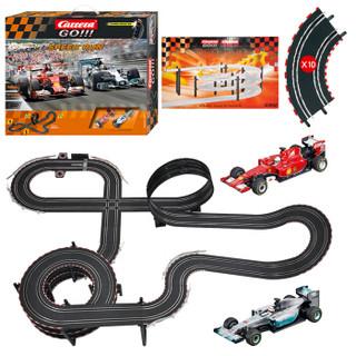 Carrera卡雷拉轨道赛车儿童玩具男孩双人竞技遥控汽车玩具车轨道车大型拼接套装