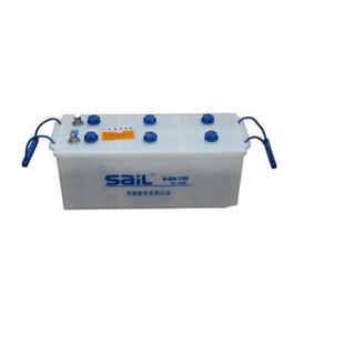 风帆 (sail) 加液电瓶 蓄电池 6-QA-120 12V 120AH 单侧锥柱桩头 510*180*210 含液以旧换新 1块