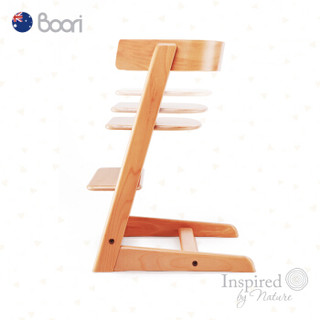 澳洲Boori泰迪进口实木餐椅儿童餐椅多功能宝宝椅子婴儿餐椅座椅餐成长椅