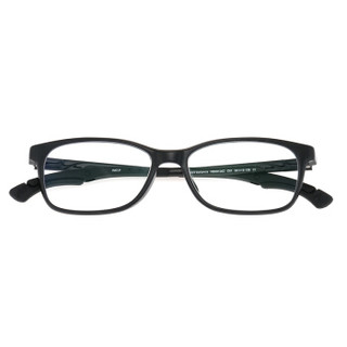 NEWBALANCE新百伦儿童眼镜框 新款儿童镜男女款近视眼镜防滑运动眼镜黑色眼镜架 NB09126Z-C01-50mm