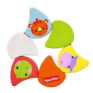 费雪 Fisher Price 早教玩具 木质环保小小彩虹FP2001