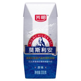 Bright 光明 莫斯利安 常温酸牛奶 200g*24盒