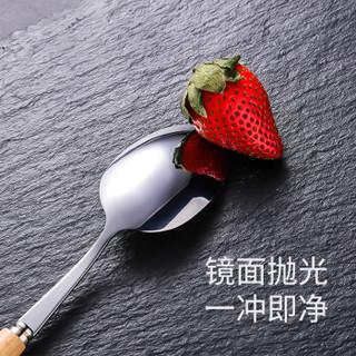 唐宗筷 餐具便携式套装 不锈钢套装 学生成人 筷子勺子叉子套装 餐具3件套 C5996