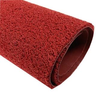 爱柯部落 维佳细丝有底圈丝控尘地垫 红色 120cm*180cm 可定制
