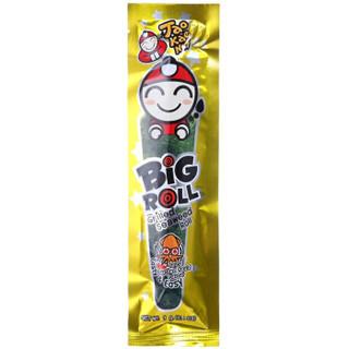 老板仔(Tao Kae Noi)海苔卷鱿鱼味 烤制 泰国进口 脆紫菜 休闲零食 独立包装3g*9条
