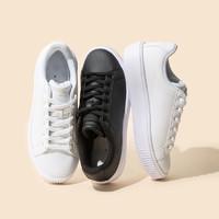 考拉工厂店 运动厚底小白鞋