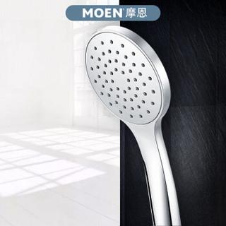 摩恩(MOEN)淋浴花洒莲蓬头超薄节水手持花洒喷头按摩大面板HH1001
