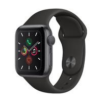 Apple 苹果 Series 5 智能手表  GPS款 40毫米 深空灰色 贴膜套装