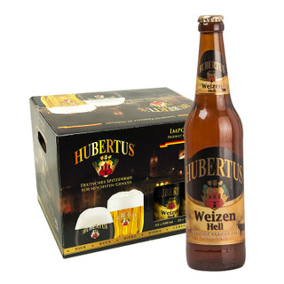 HUBERTUS 国进口瓶装白啤酒 500ml*20瓶