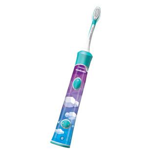 PHILIPS 飞利浦 Sonicare for Kids儿童护齿系列 HX6322/04 儿童声波震动牙刷 蓝牙版 蓝色