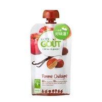 GOOD GOUT 苹果栗子泥 婴幼儿宝宝零食果泥(6个月以上适用) 120g 欧洲原装进口 *10件