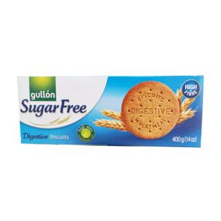 西班牙进口 谷优(Gullon) 低糖粗麦消化饼   酥性饼干 木糠杯原料饼干 400g