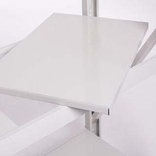 蜂电(FENG DIAN)货架 钢制白色轻型仓储四层铁架子超市家用储物主架200*150*40cm