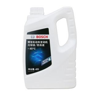 博世(BOSCH)汽车发动机通用水箱防冻液/冷却液/冷却水 冰点-45℃ 4L(绿色)