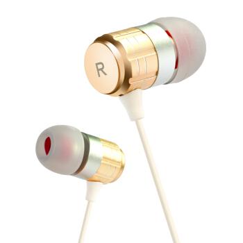 Newmine 纽曼  NM-JK12 半入耳式有线耳机 金色