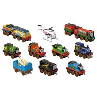 托马斯和朋友 THOMAS&FRIENDS 男孩玩具 轨道大师系列之十辆装恐龙伙伴礼盒套装 GHW15