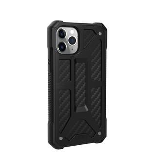 UAG 苹果2019款6.5英寸屏手机 iphone 11 Pro max保护壳尊贵系列,限量碳纤黑