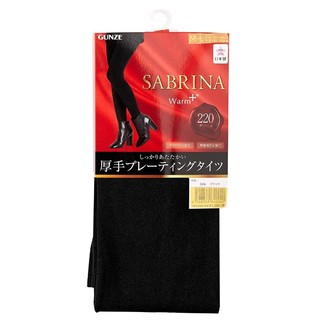 中亚Prime会员、凑单品 : GUNZE SABRINA Warm+系列 220D加绒加厚打底袜