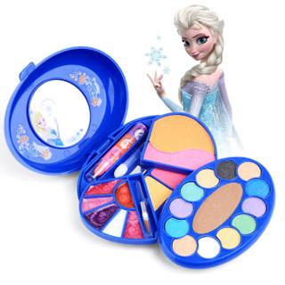 迪士尼玩具女孩儿童彩妆化妆盒套装 女孩儿童节生日礼物口红指甲油粉底化妆玩具Disney 冰雪公主唯美彩妆盒