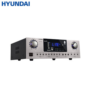 现代 HYUNDAI KA-150家用功放机专业大功率重低音家庭影院蓝牙卡拉OK消原音KTV音响