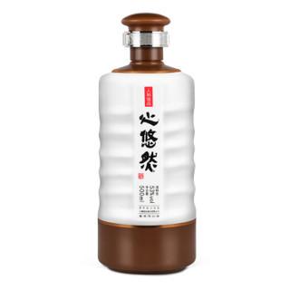 小糊涂仙 心悠然 人和佳品 酱香型白酒 53度500ml*6瓶 整箱装
