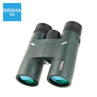 博冠BOSMA双筒望远镜高清高倍成人微光夜视便携银虎2代8X42