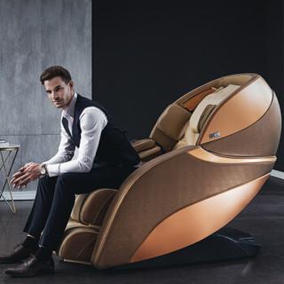 芝华仕CHEERS M500按摩椅太空舱家用大型智能 金色