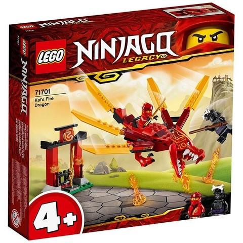百亿补贴:LEGO 乐高 幻影忍者系列 71701 凯的火焰神龙