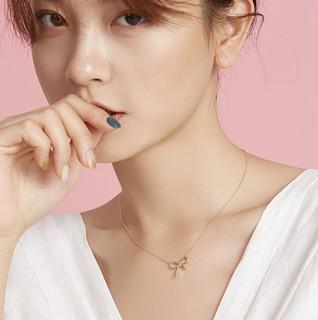 CHOW TAI SENG 周大生 S0PC0034 纯银蝴蝶结项链