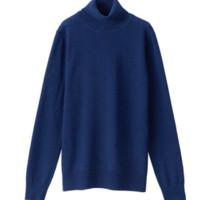 MUJI 无印良品 W8AA871 女士高领毛衣