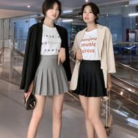 凝涩 百褶裙 短裙 XS-2XL