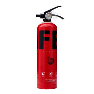 神龙 灭火器 灭霸 水基(水雾)不锈钢环保灭火器2升 SAFE版红黑款 车载家用商用灭火器2L MSWZ/2B 消防器材