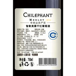 Chilephant 智象 美露干红葡萄酒 750ml*6