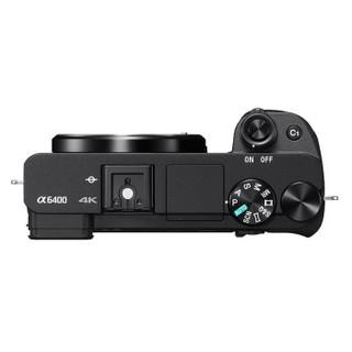 SONY 索尼 Alpha 6400 APS-C画幅微单数码相机 标准套装 黑色