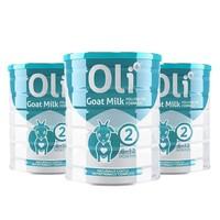 Oli6 婴幼儿配方羊奶粉 2段 800g *3件