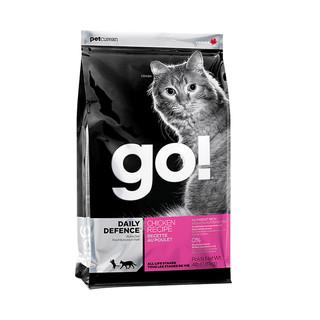 考拉海购黑卡会员 : GO!活力鸡肉无谷成猫幼猫全阶段天然猫粮 8磅3.63kg